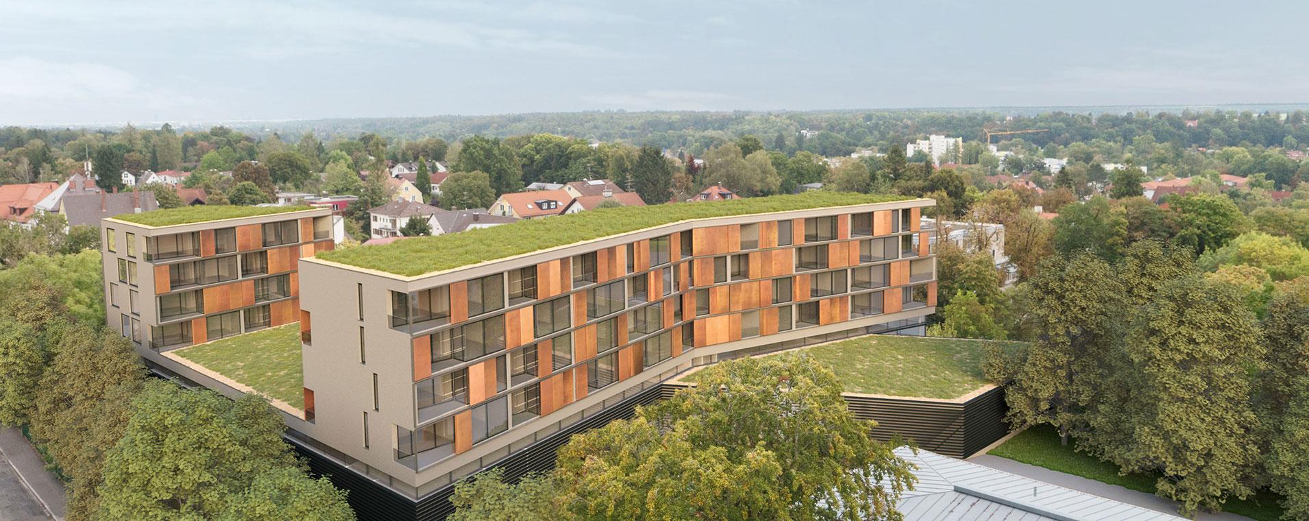 Wettbewerb Architekt München Wohnhaus Gauting