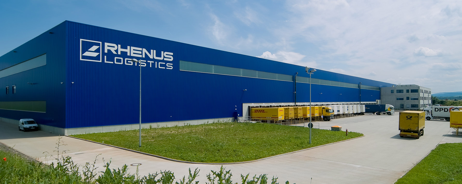 Logistik architektur Rhenus