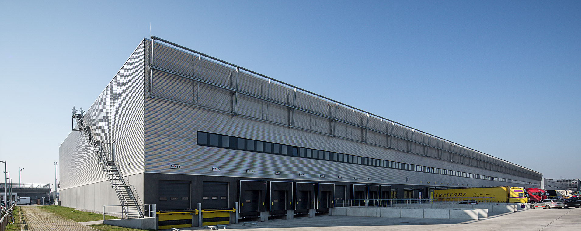 Logistik architektur Airpot Munich