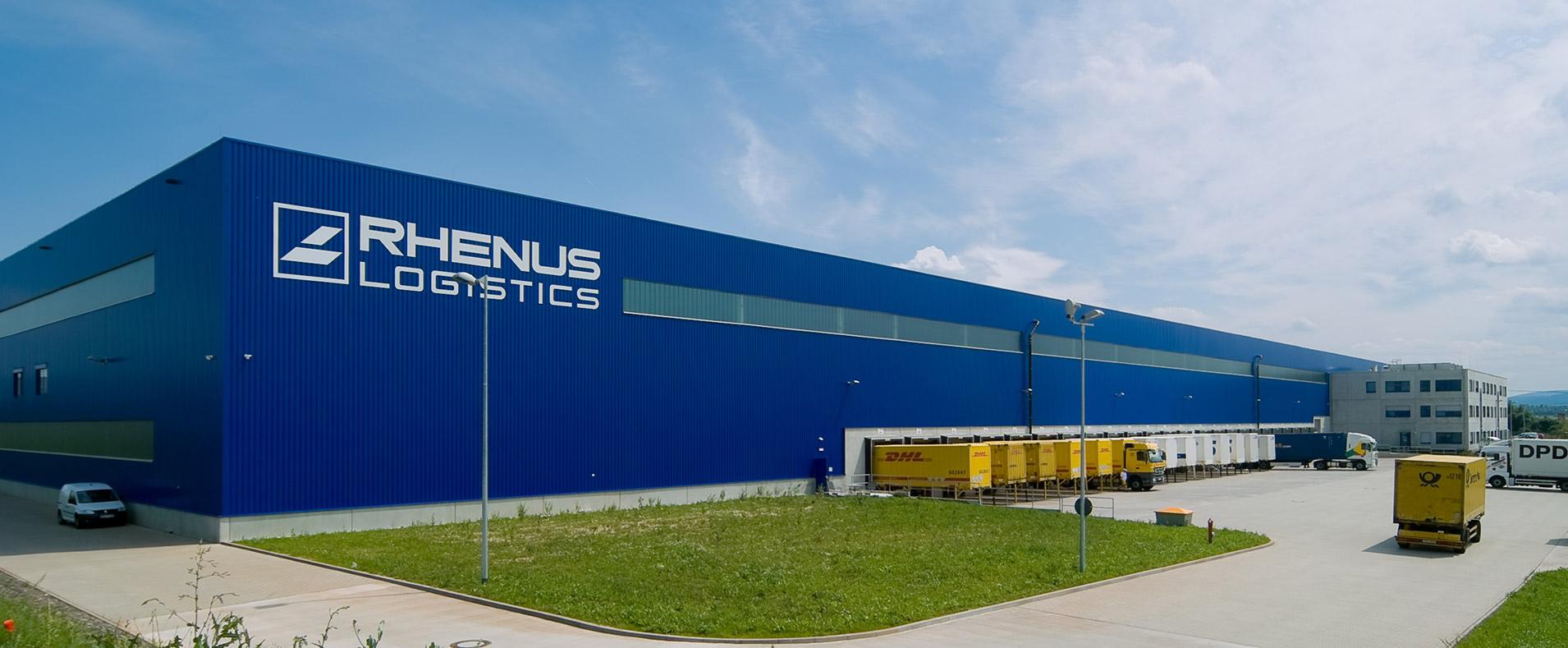 Logistik Architektur Rhenus