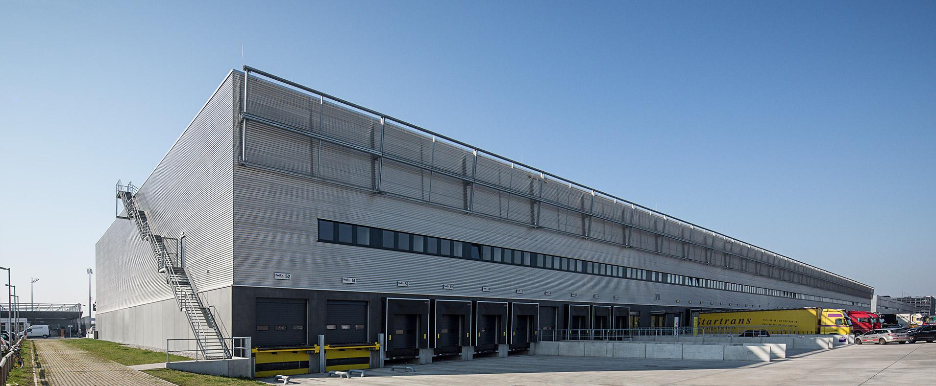 Logistik Architektur Munich Airport