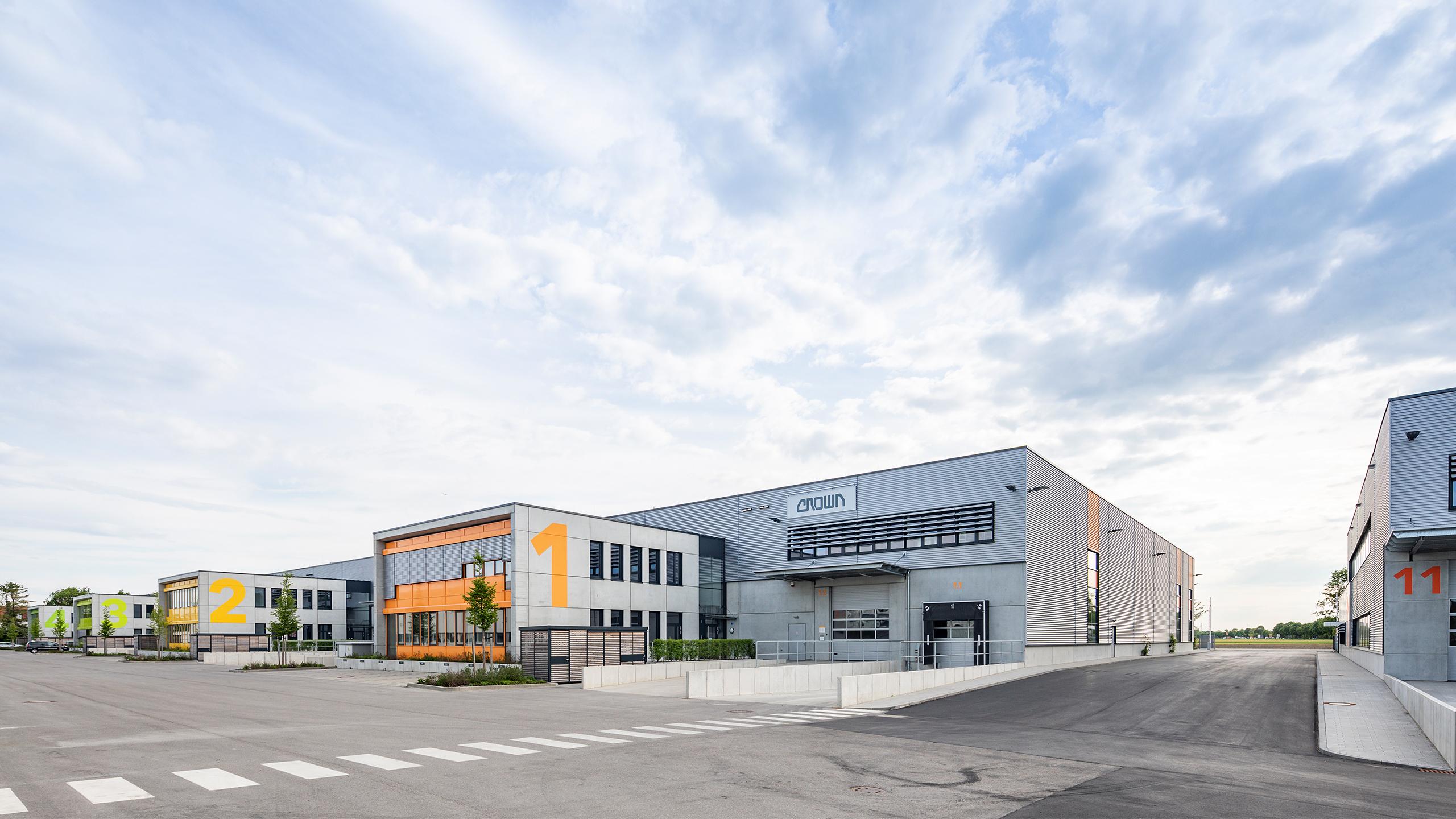 Industriearchitektur BEOS NOVA